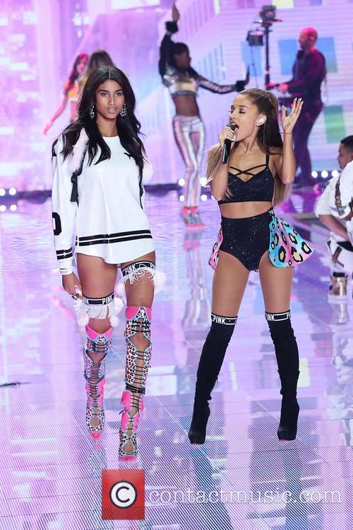 Ariana Grande and Imaan Hammam