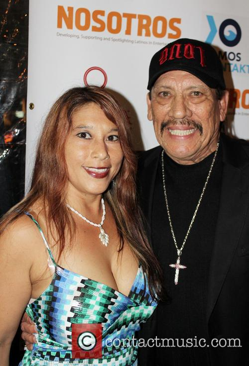 Jenna Urban and Danny Trejo 1