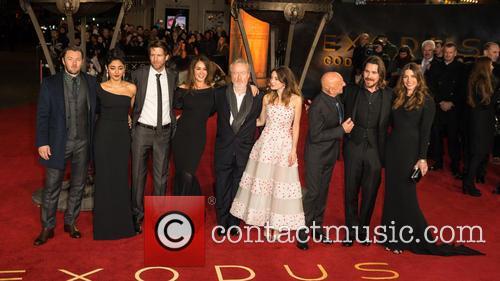 Joel Edgerton, Golshifteh Farahani, Andrew Tarbet, Giannina Facio, Sir Ridley Scott, Maria Valverde, Sir Ben Kingsley and Christian Bale. Sibi Blazic