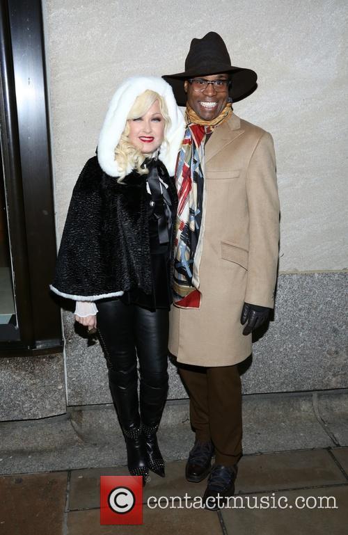 Billy Porter and Cyndi Lauper