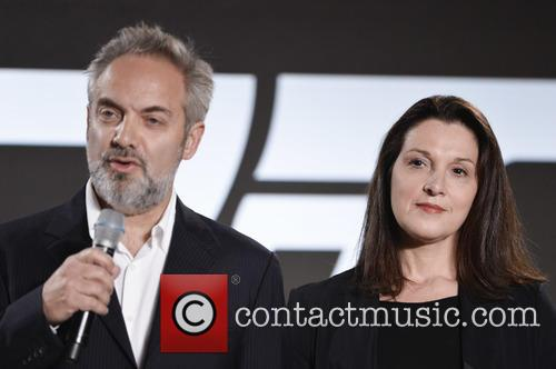 Sam Mendes and Barbara Broccoli