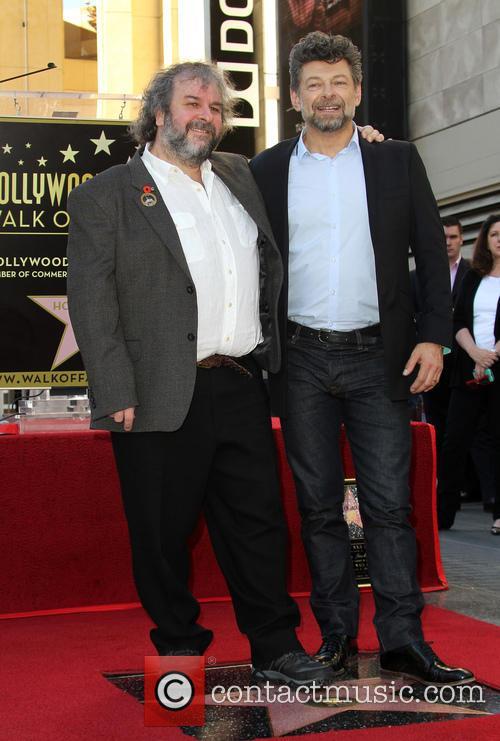 Andy Serkis and Peter Jackson 6