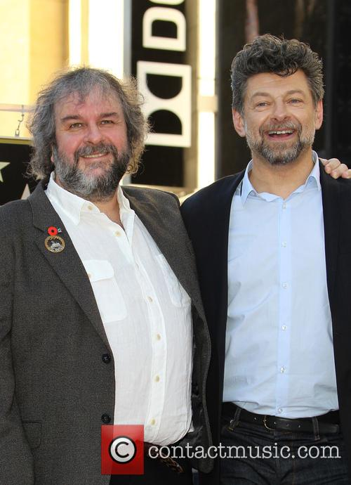 Andy Serkis and Peter Jackson 8