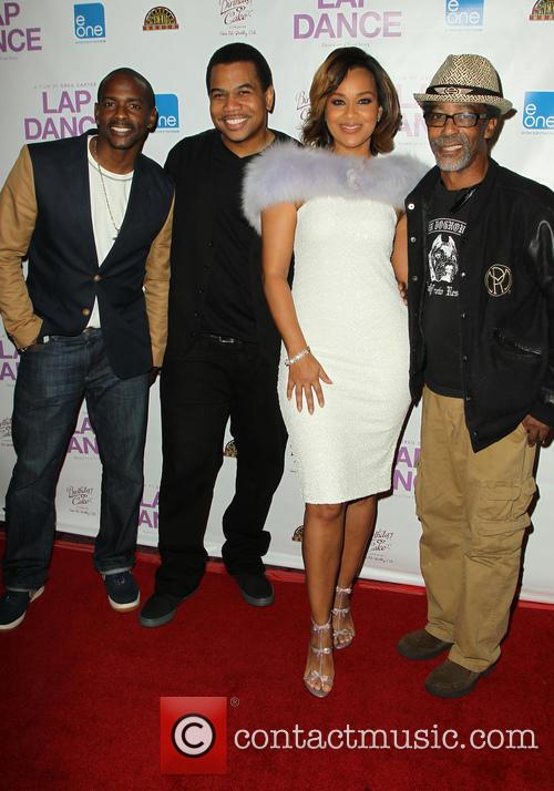 Keith Robinson, Omar Gooding, Lisaraye Mccoy and Guest
