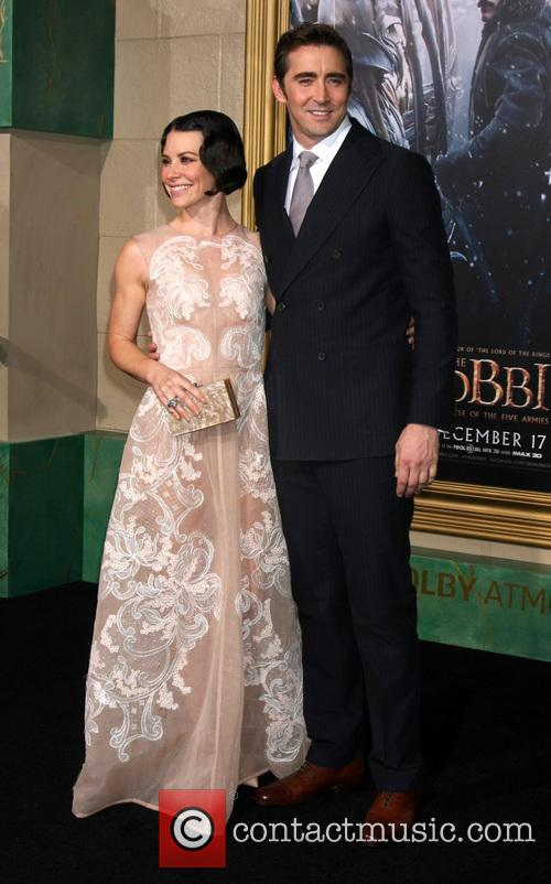 Evangeline Lilly and Lee Pace
