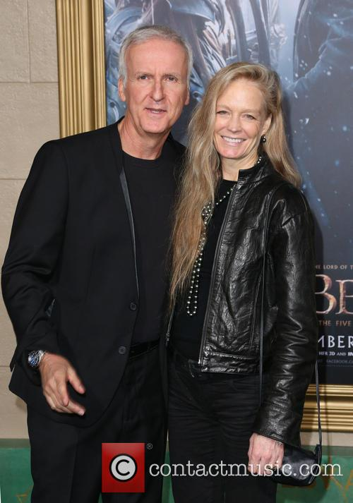 James Cameron and Suzy Amis Cameron