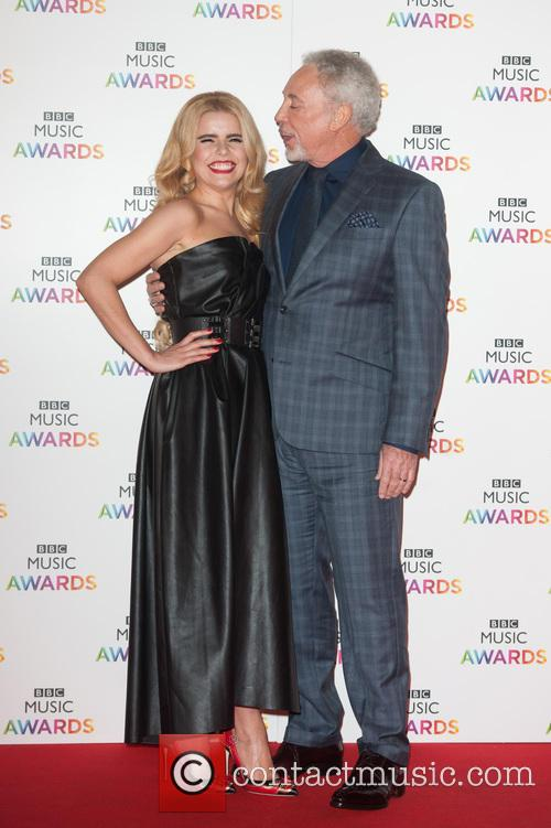 Tom Jones and Paloma Faith