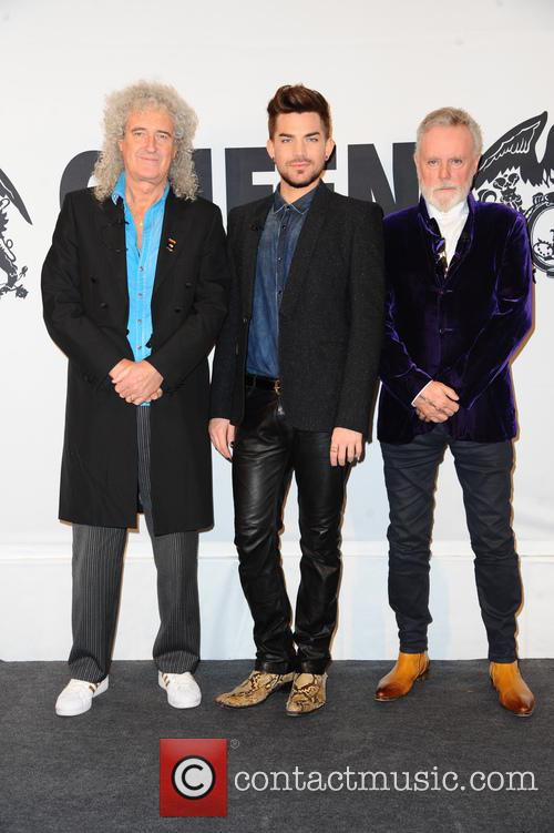 Queen, Brian May, Adam Lambert and Roger Taylor 6
