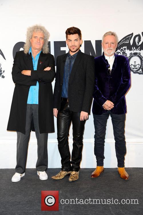 Queen, Brian May, Adam Lambert and Roger Taylor 8