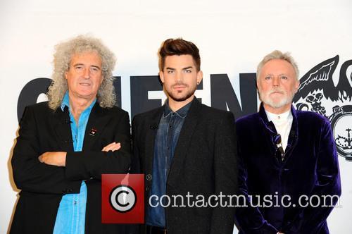 Queen, Brian May, Adam Lambert and Roger Taylor 9