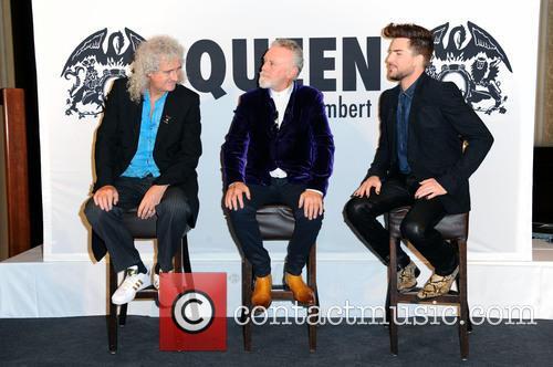 Queen, Brian May, Adam Lambert and Roger Taylor