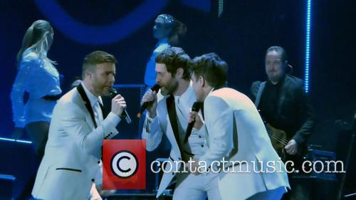 Take That, Mark Owen, Howard Donald and Gary Barlow 5