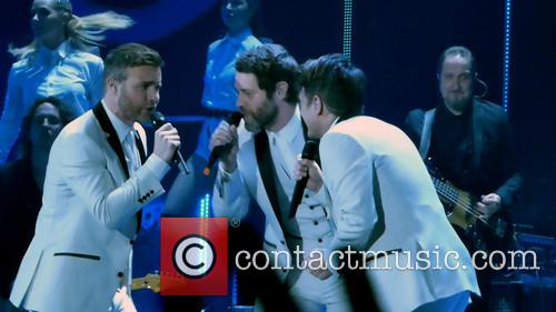 Take That, Mark Owen, Howard Donald and Gary Barlow 1