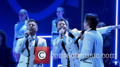 Take That, Mark Owen, Howard Donald and Gary Barlow 6