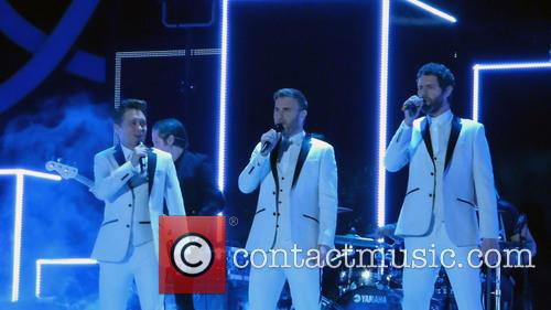 Take That, Mark Owen, Howard Donald and Gary Barlow 11
