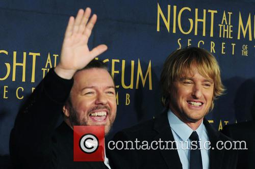 Ricky Gervais and Owen Wilson 9