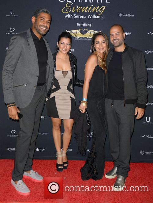 Serena Williams, Patrick Tardieu and Michael Rose 11