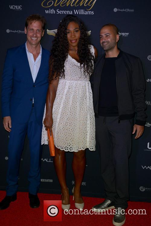 Serena Williams and Michael Rose 8
