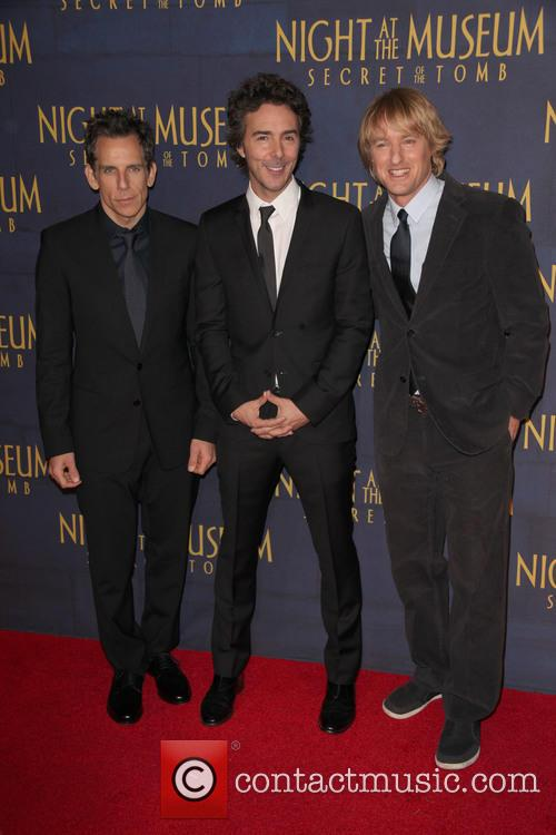 Ben Stiller, Director, Shawn Levy and Owen Wilson