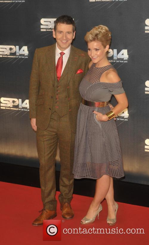 Dougie Vipond and Helen Skelton
