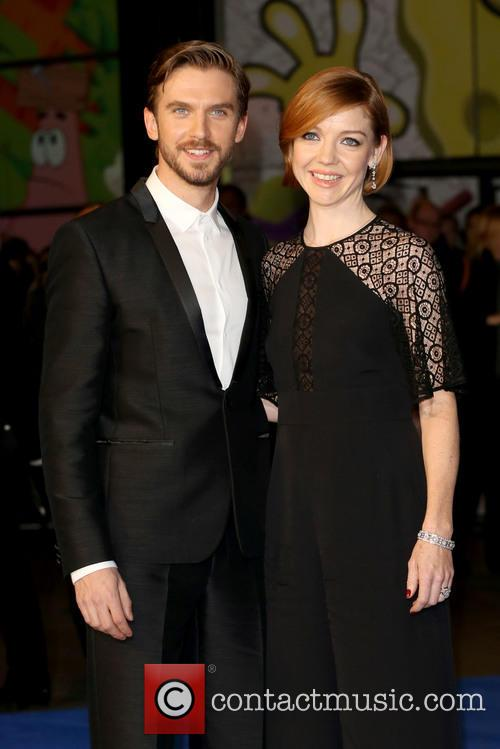 Dan Stevens and Wife Susie Hariet