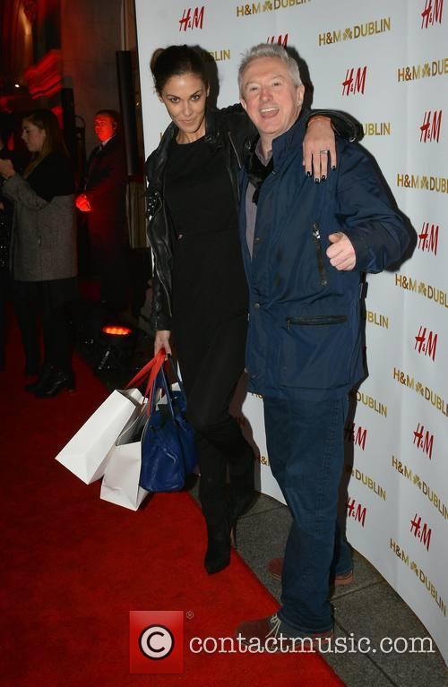 Glenda Gilson and Louis Walsh 2