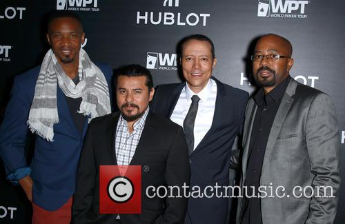 J August Richards, Jacob Vargas, Yancey Arias and Inny Clemons