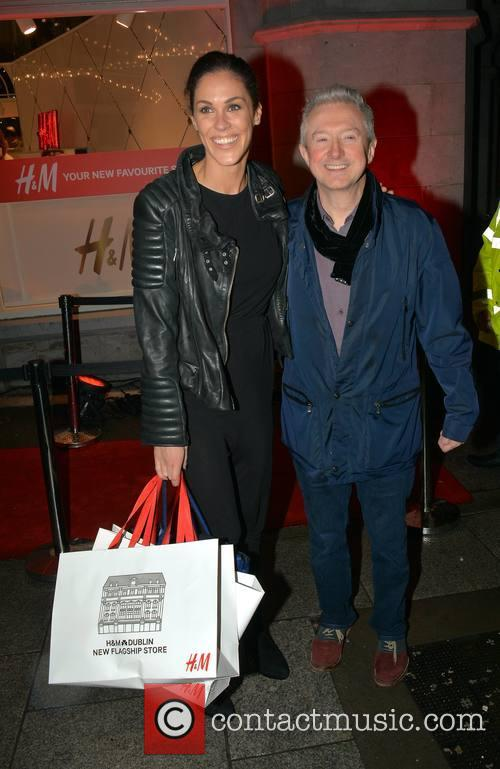 Glenda Gilson and Louis Walsh 1