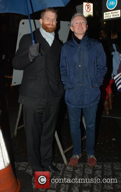 Rob Morgan and Louis Walsh 1