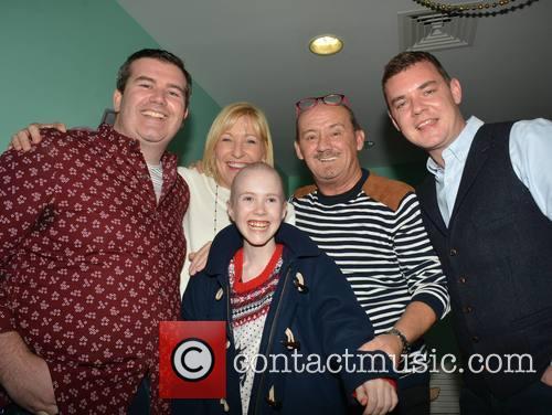 Paddy Houlihan, Jenny O'carroll, Brendan O'carroll and Danny O'carroll With Alice Flanagan (13)