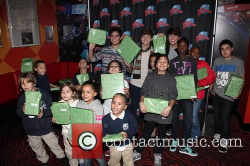 Emery Kelly, Ricky Garcia, Liam Attridge and Nyc Children From Homeless Shelters