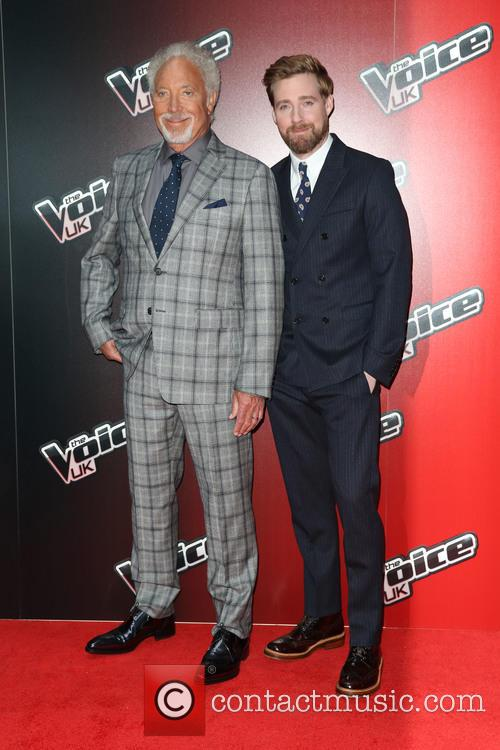 Tom Jones and Ricky Wilson