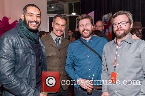 Ahmed Ibrahim, Murray Bartlett, Andrew Haigh and Andy Morwood