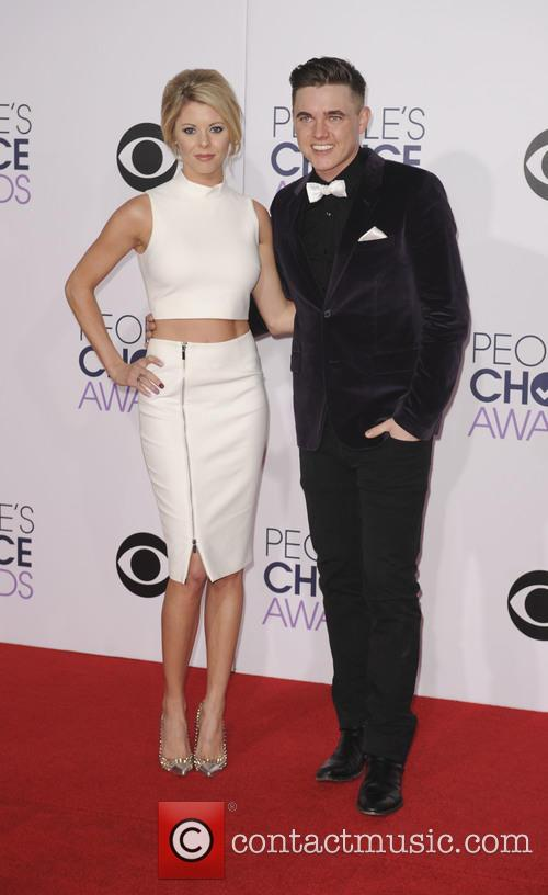 Jesse Mccartney and Katie Peterson