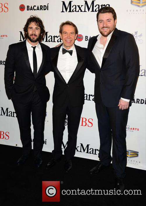 Josh Groban, Jeff Koons and Chris Young 7