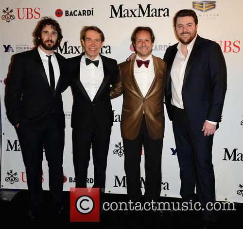 Josh Groban, Jeff Koons, Paul Lehr and Chris Young 8