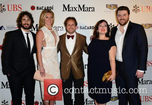 Josh Groban, Sarah Arison, Paul Lehr, Zuzanna Szadkowski and Chris Young 5