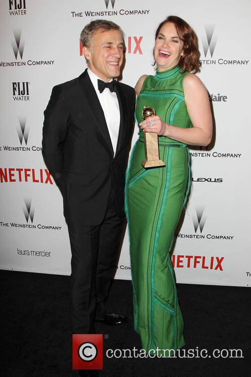 Christoph Waltz and Ruth Wilson 6