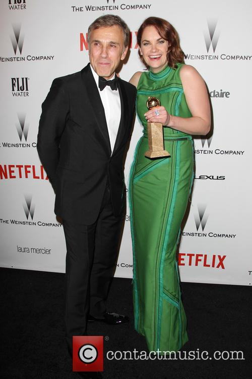 Christoph Waltz and Ruth Wilson 7