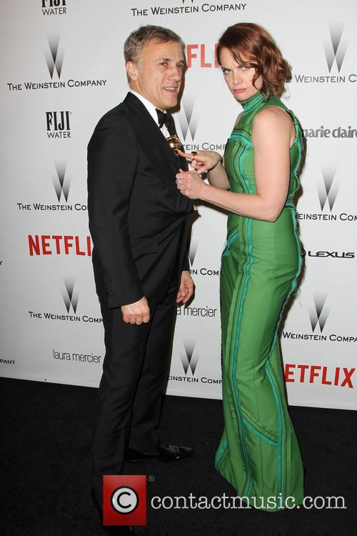 Christoph Waltz and Ruth Wilson 9