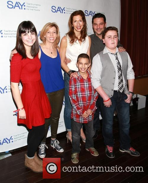 Maddie Corman, Alysia Reiner, David Alan Basche and Say Kids 2