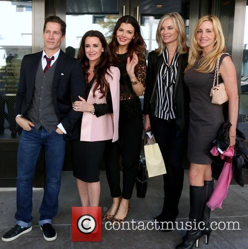 Kyle Richards, Ali Landry, Eileen Davidson and Kim Richards 4
