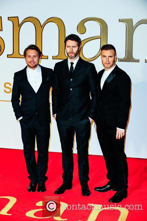 Gary Barlow, Howard Donald, Mark Owen and Take That