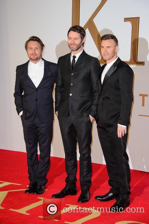 Take That, Gary Barlow, Howard Donald and Mark Owen 8