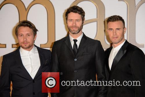 Take That, Gary Barlow, Howard Donald and Mark Owen 1