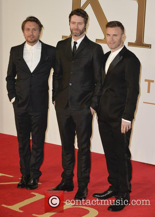 Mark Owen, Howard Donald and Gary Barlow