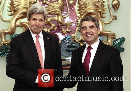 John Kerry and Bulgarian President Rosen Plevneliev 2
