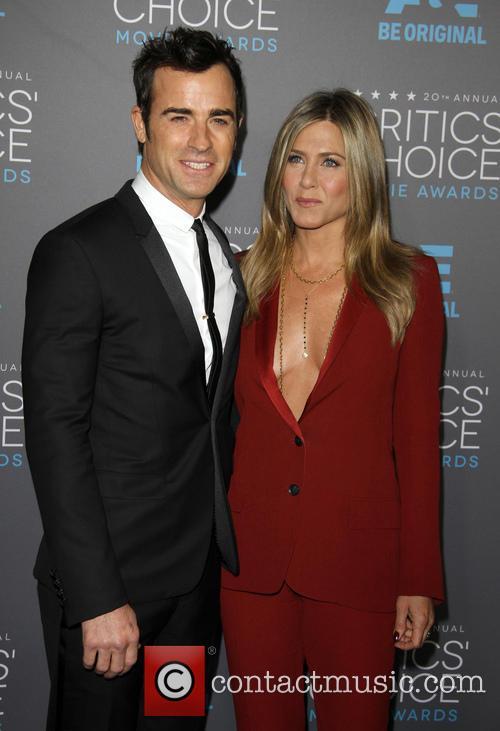 Justin Theroux and Jennifer Aniston 1