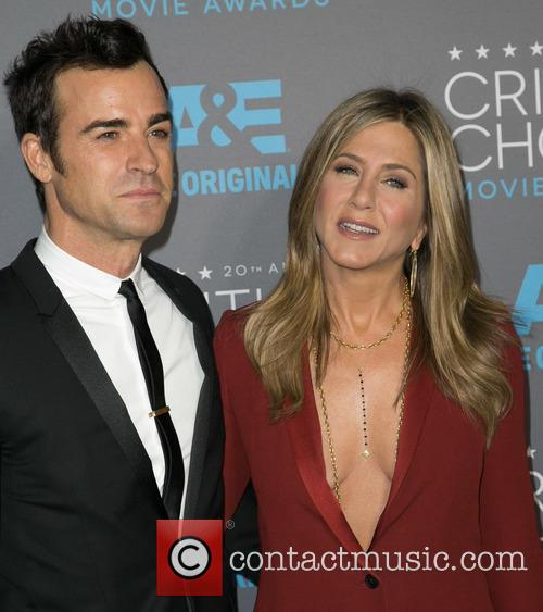 Justin Theroux and Jennifer Aniston 2