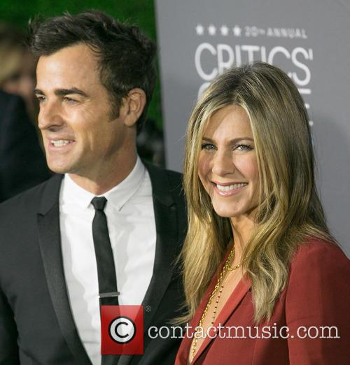 Justin Theroux and Jennifer Aniston 1
